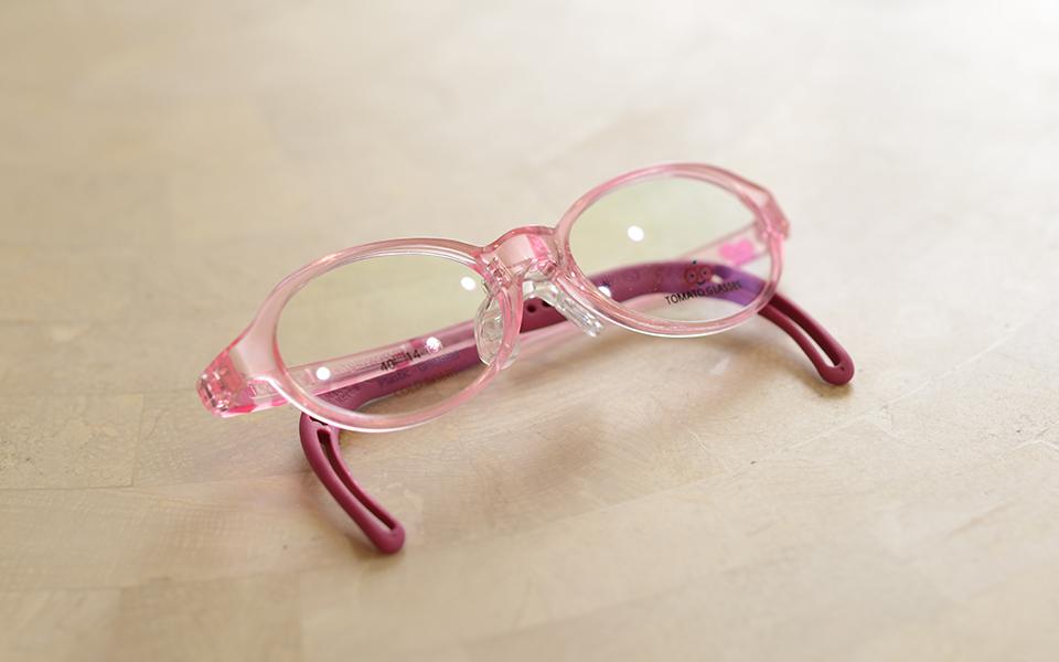 小児弱視等の治療用メガネ